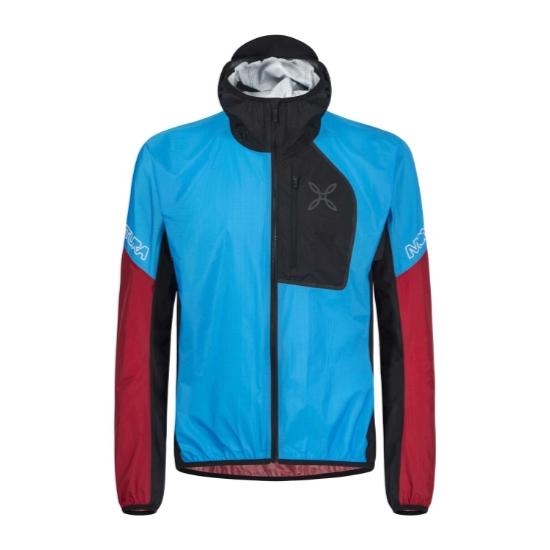Montura Rain Safe 2.0 Jacket - Turchese/Rosso