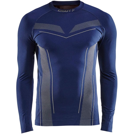 Craft Pro Control Seamless Jersey - Navy