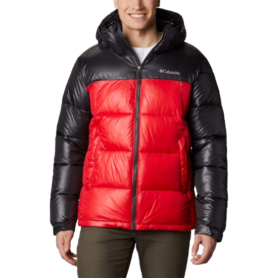 Columbia Pike Lake Hooded Jacket - Red