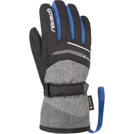 Reusch Bolt GTX Jr - Black/brill blue