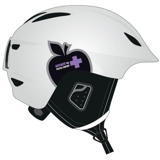 Movement Icon Women Helmet - White
