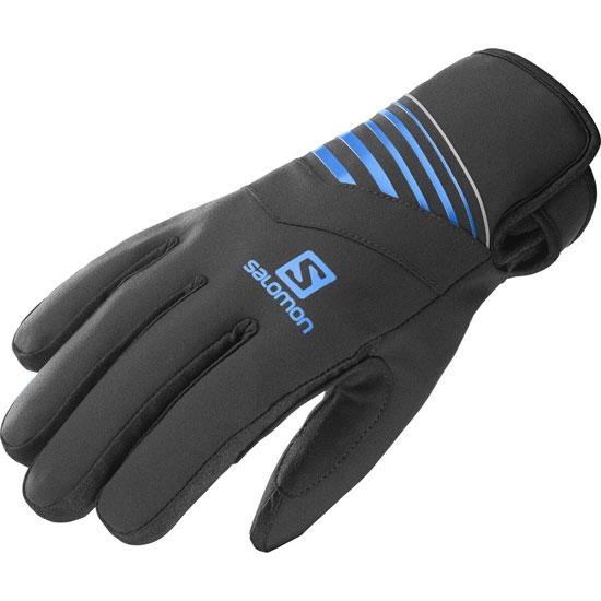 Salomon RS Warm Glove - Black/Bk/Indigo Bun