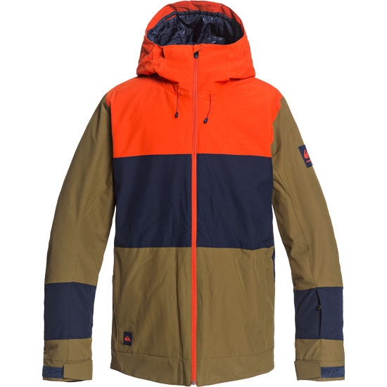 Quiksilver Sycamore Jacket - Military Olive