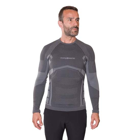 Trangoworld Cetema Baselayer - Black/Grey