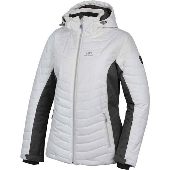 Hannah Balay Jacket W - Bright White/Gray Mel
