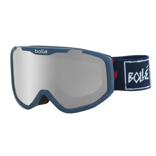 Bollé Rocket Plus Jr Black Chrome Cat 3 - Blue Skull
