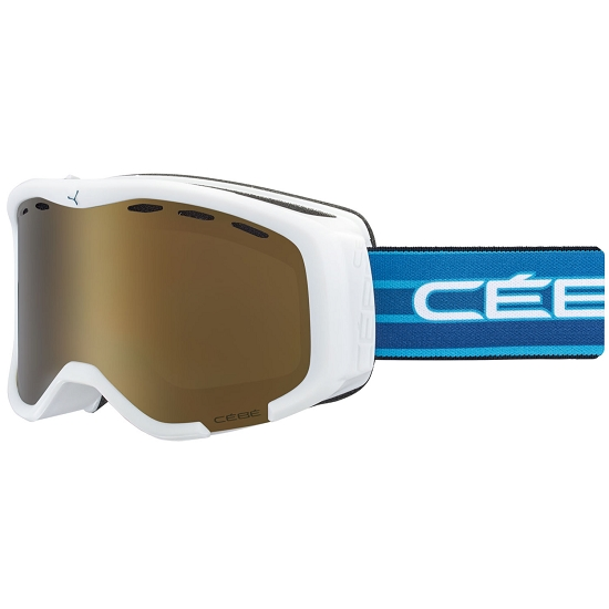 Cebe Cheeky Jr Rose Flash Gold Cat.3 -  Mat White Blue