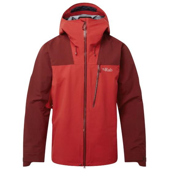 Rab Ladakh Gtx Jacket - Oxblood Red/Ascent Red