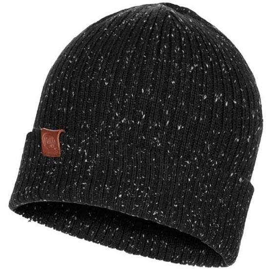 Buff Kork Knitted Hat - Black