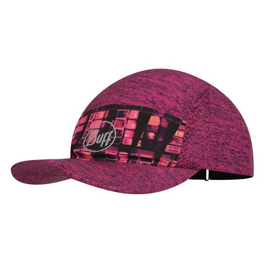 Buff Run Cap - Pixel Pump Pink