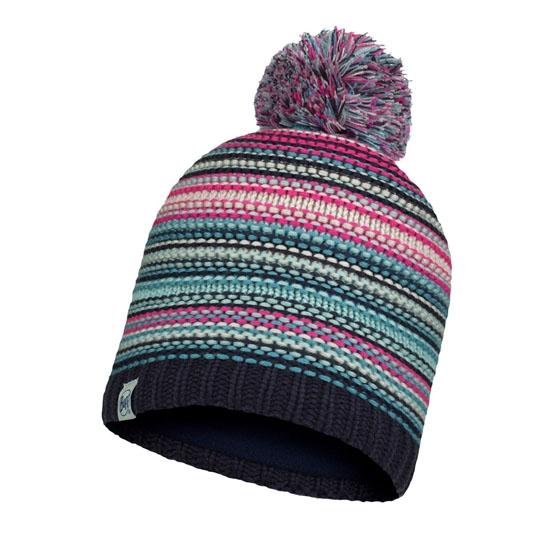 Buff Knitted Hat Jr - Amity Night Blue