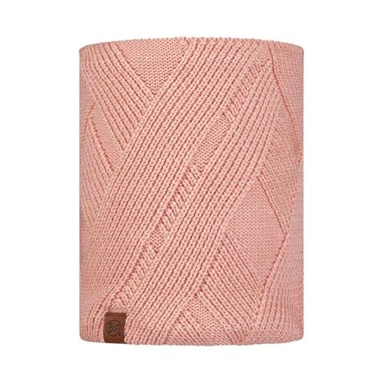Buff Knitted Neckwarmer - Raisa Rosé