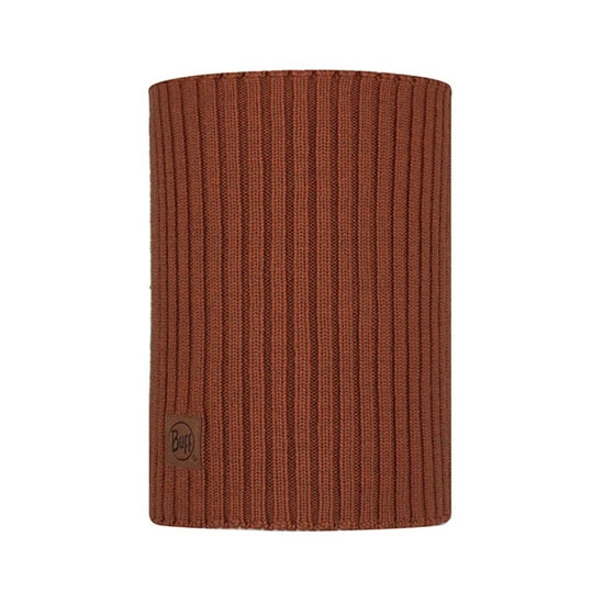 Buff Knitted Neckwarmer -  Norval Rusty