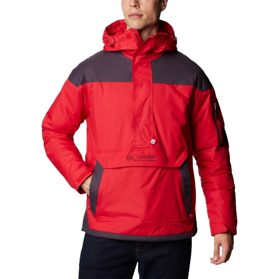 Columbia Challenger Pullover - Red