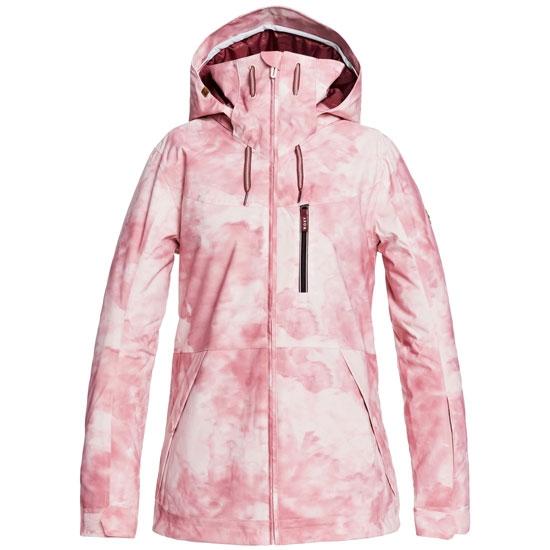 Roxy Presence Jacket W - Silver Pink Tie Dye