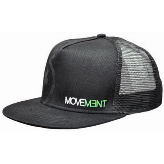 Movement Cap Trucker - Black/Green