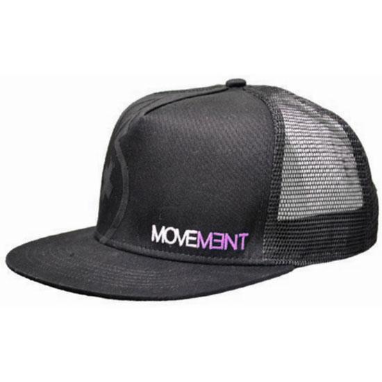 Movement Cap Trucker - Black/Pink
