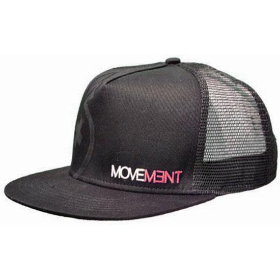 Movement Cap Trucker - Black/Red
