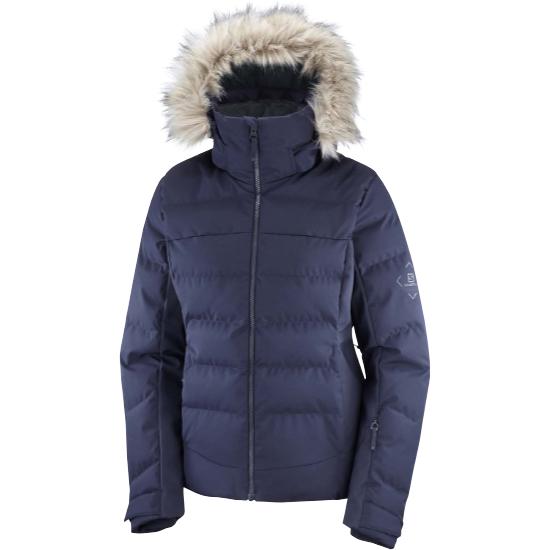 Salomon Stormcozy Jacket W - Night Sky