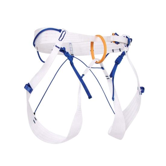 Blue Ice Choucas Harness - White