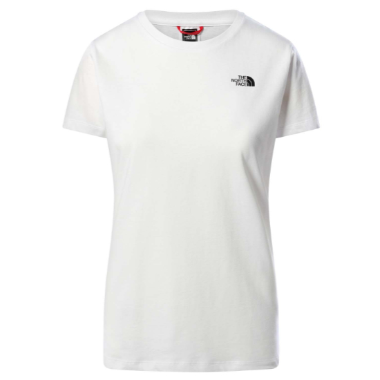 The North Face Simple Dome Tee W - TNF White