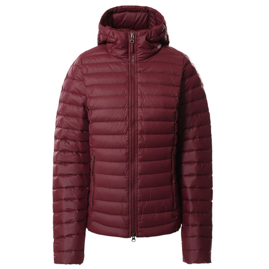 The North Face Stretch Down Hoodie W - Regal Red