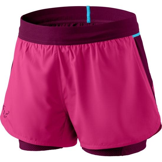 Dynafit Alpine Pro 2in1 Shorts W - Flamingo