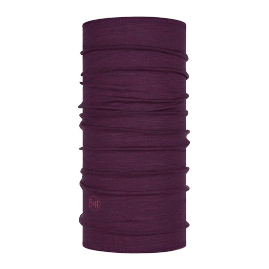 Buff Lightweight Merino Wool - Purplish Multi