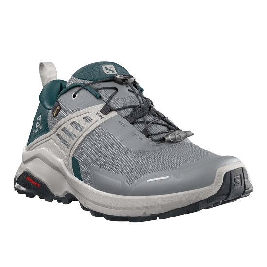 Salomon X Raise GTX - Monument Deep Teal Lunar Ro
