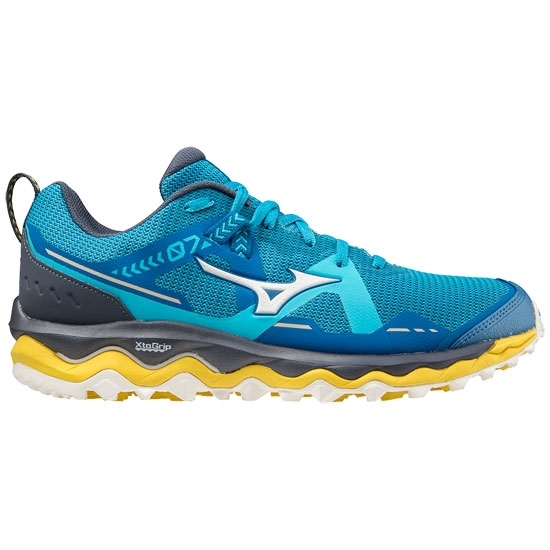 Mizuno Wave Mujin 7 - Mykonos Blue/Snow White