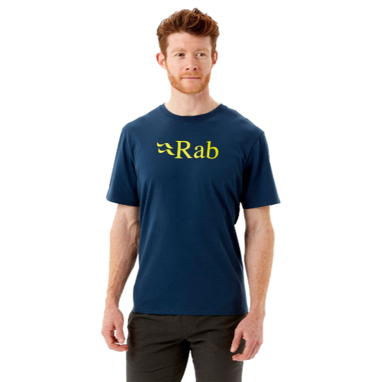 Rab Stance Logo Tee - Deep Ink
