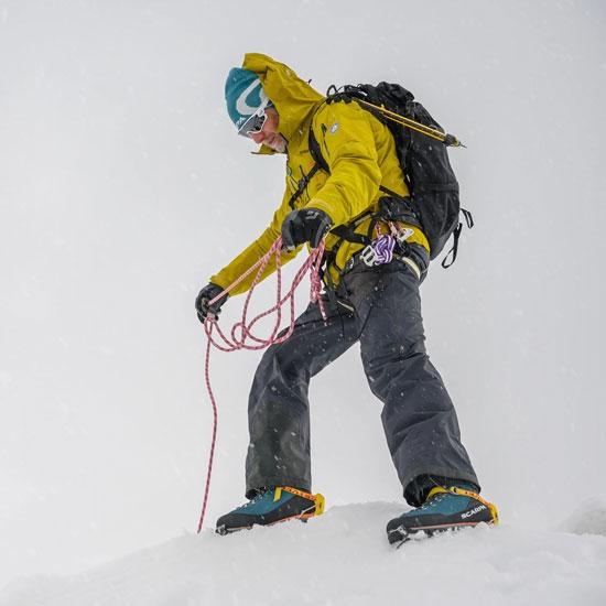 Scarpa Mont Blanc Gtx W - Photo of detail