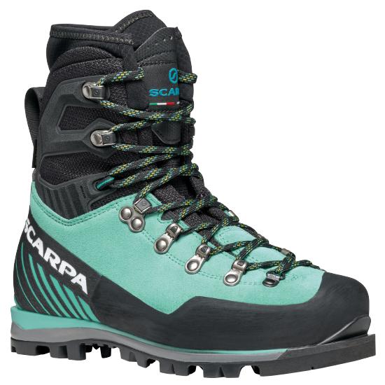 Scarpa Mont Blanc Pro Gtx W - Green Blue