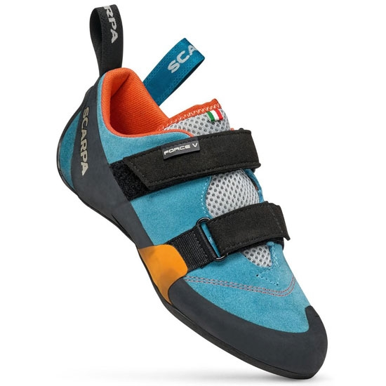 Scarpa Force V W - Ice Fall/Mandarin Red