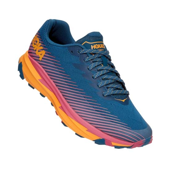 Hoka One One Torrent 2 W - Moroccan Blue / Saffron