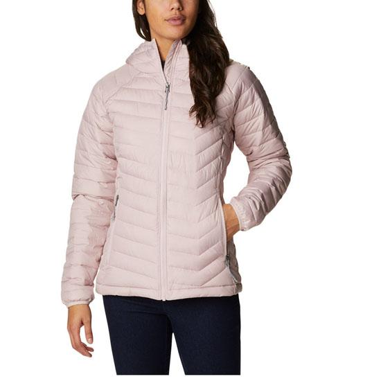 Columbia Powder Lite Hooded Jacket W - Rose