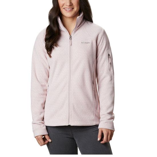 Columbia Fast Trek Printed Jacket W - Mineral Pink