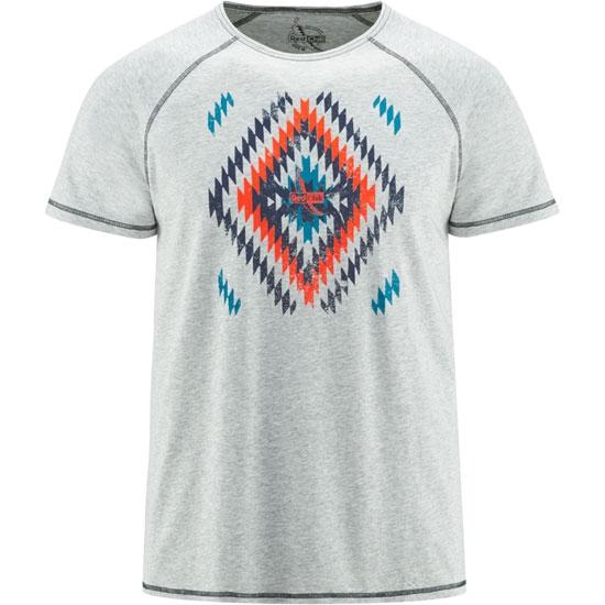 Red Chili Me Naki T-Shirt - Grey Melange