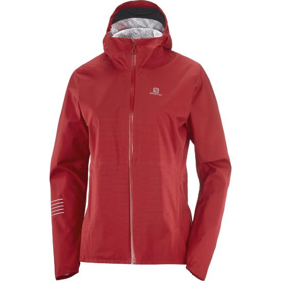Salomon Bonatti WP Jacket W - Red Chili/Black