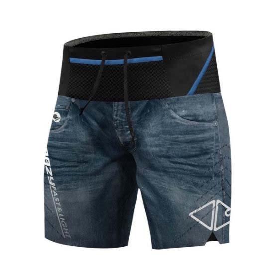 Crazy Flash Short - Print Light Jeans