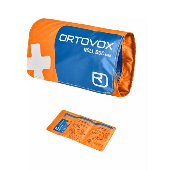 Ortovox First Aid Roll Doc Mini - Shocking Orange