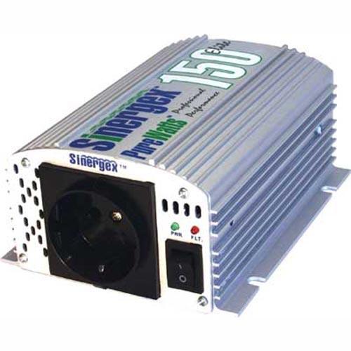 Sinergex Convertisseur 12 VDC à 220 VAC - 150 W Puissance -