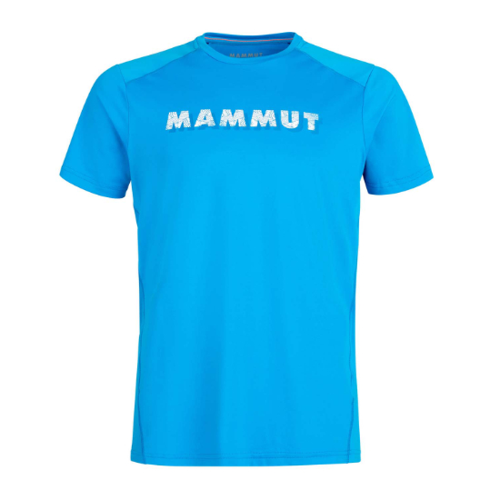 Mammut Splide Logo Tee - Gentian