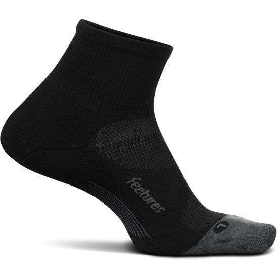 Feetures Elite Light Cushion Quarter - Black