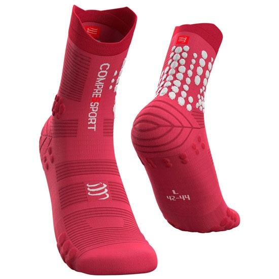 Compressport Pro Racing Socks V3.0 Trail - Garnet Rose