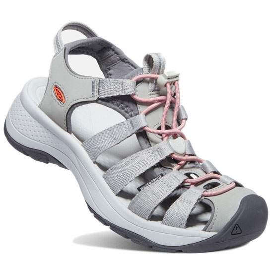 Keen Astoria West Sandal W - Grey/Coral