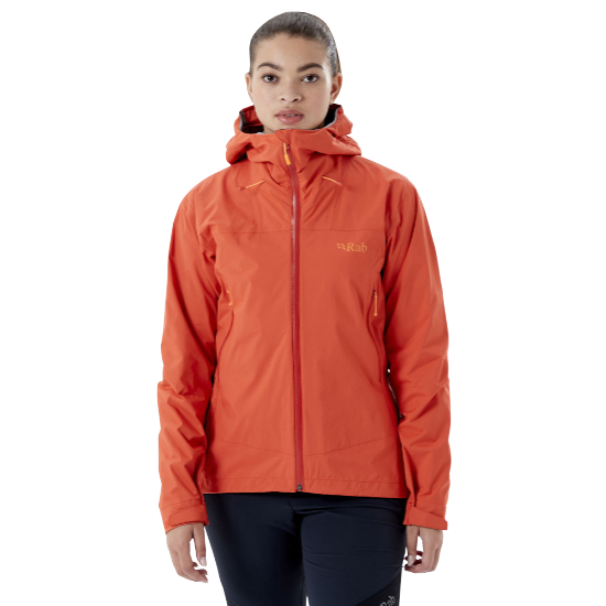 Rab Downpour Plus 2.0 Jacket W - Red Grapef