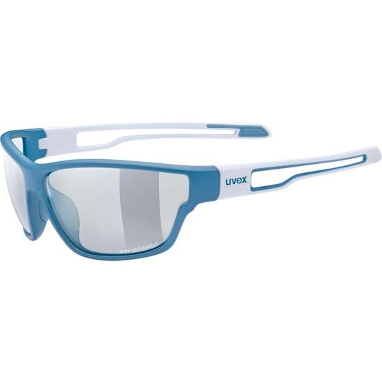 Uvex Sportstyle 806 Vario S1-S3 - Blue/White
