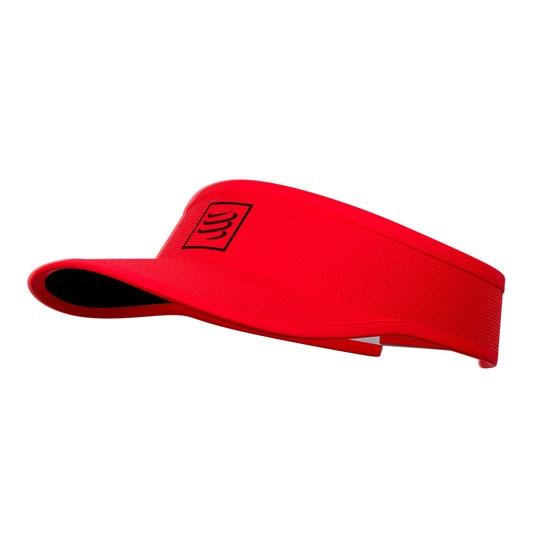 Compressport Visor - Red/Black