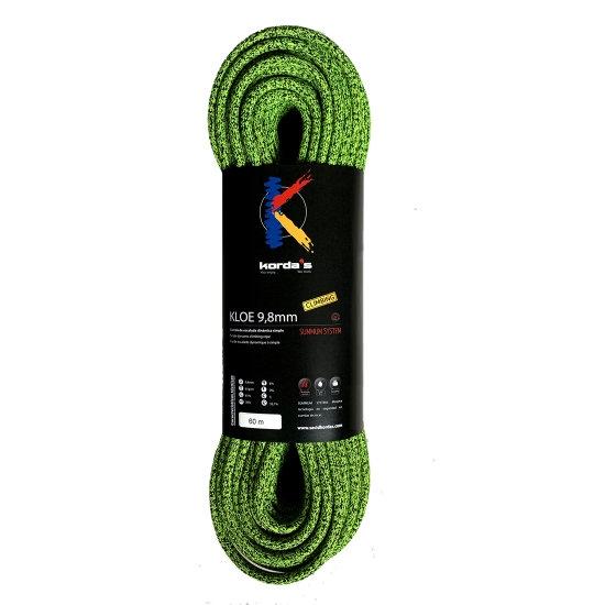 Korda's Kloe 9,8 mm x 80m - Verde - Negro